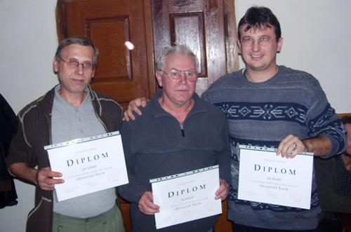 Stupně vítězů 2007